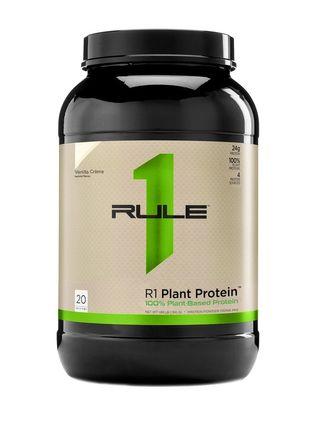 image of אבקת חלבון טבעונית Plant Protein | חלבון צמחי בטעם וניל 760 גרם