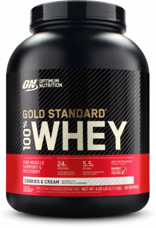 "image of אבקת חלבון Gold Standard Whey   גולד סטנדרט 2.27 ק""ג"
