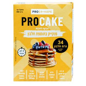 image of אבקה להכנת פנקייק חלבון Pro Cake | פרו קייק 468 גרם