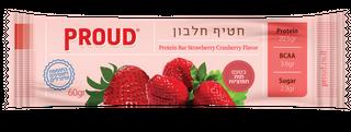 image of חטיף חלבון PROUD | פראוד בטעם תות חמוציות 60 גרם