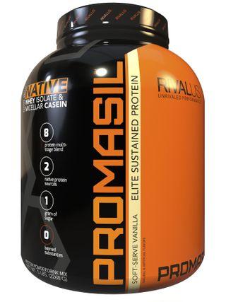 image of אבקת חלבון ProMasil | פרומאסיל 2.3 קילו + שייקר קפיץ מתנה!