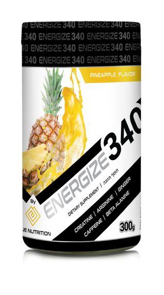 image of קדם אימון ENERGIZE 340 | אנרג'ייז 340  בגודל 300 גרם + משפך מתנה